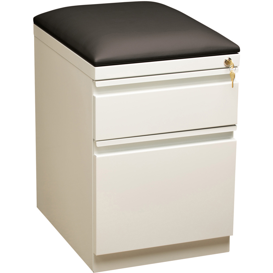 Llr Lorell Mobile Pedestal File With Seating