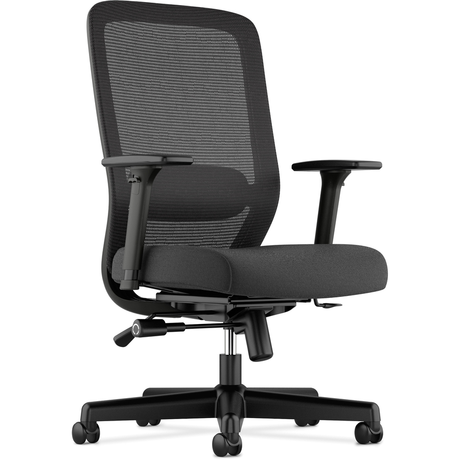 Hon Chairs Basyx By Hon Fabric Seat Mesh High Back Chair