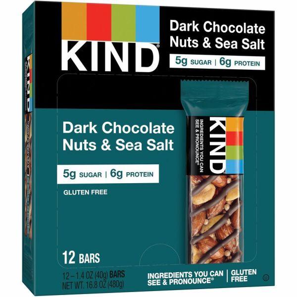 Discount KND17851 KIND 17851 KIND Dark Chocolate NutsSea