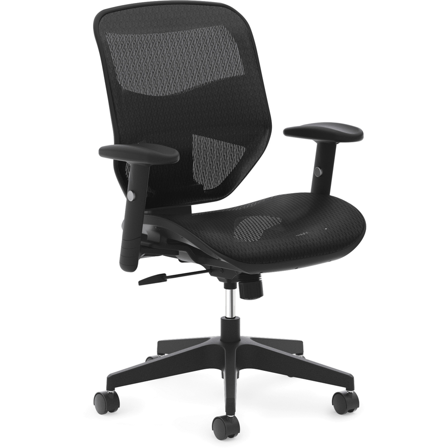 hon desk chairs stool chair office basyx by hvl534 high back task bsxvl534mst3