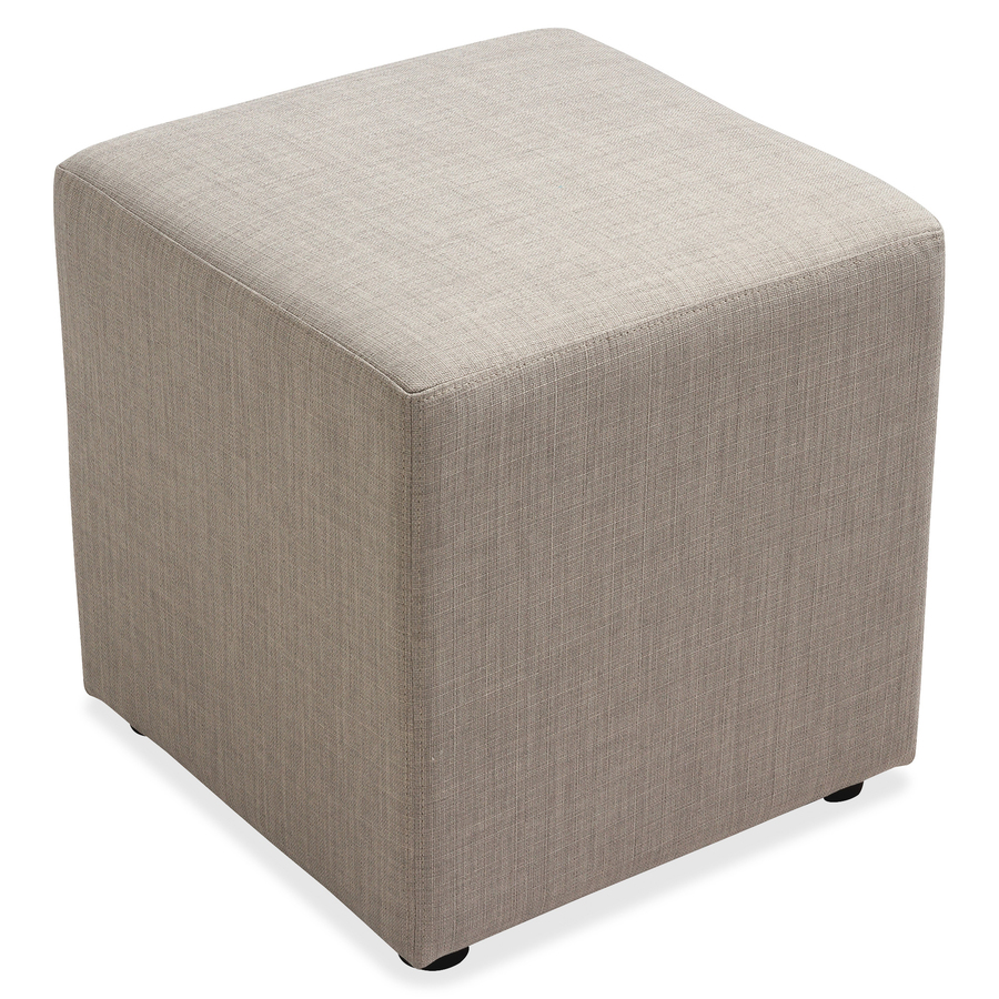 Lorell Fabric Cube Chair  Plywood18 x 18 x 18  Fabric