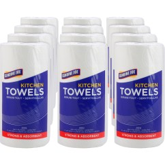 Cheap Kitchen Towels Best Faucets Consumer Reports Wholesale Genuine Joe 250 Sheet Roll Gjo25012
