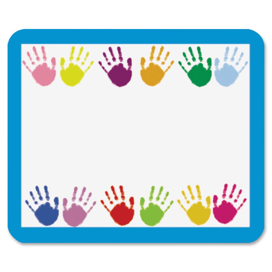 Carson Dellosa Grades Prek 5 Handprints Name Tags