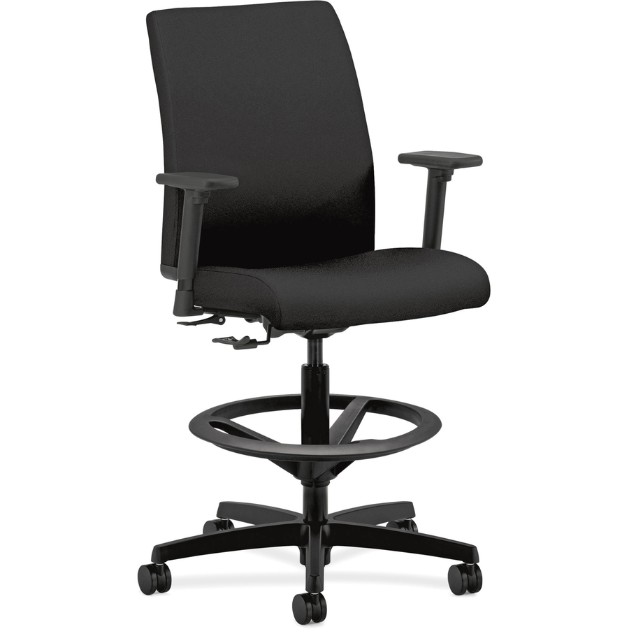 hon ignition fabric chair good posture office task stool