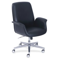 La Z Boy Black Leather Executive Office Chair Uk Seagrass Wingback Lzb48799blk Comfortcore Gel Seat Collaboration