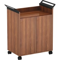 Lorell Laminate Mobile Storage Cabinet - RROfficeSolutions.com