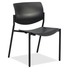 Lifetime Stacking Chairs 2830 Black Molded Seat Chair Covers And Sashes Rental Chicago Lorell Stack With Plastic Back