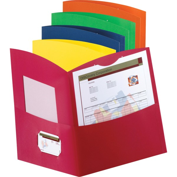 Save Big Oxford Contour Two Pocket Folder