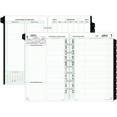 DTM92010 : Day-Timer® Day-Timer 2-Page-Per-Day Loose-Leaf