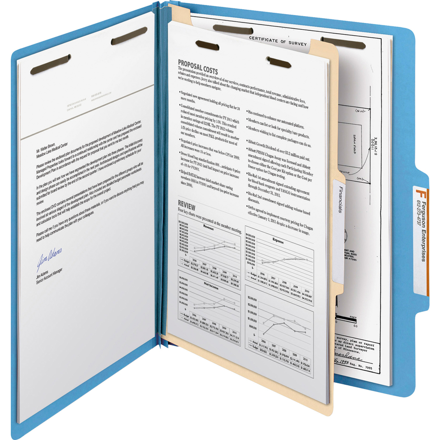 Smead Manila And Colored Classification Folders Smd
