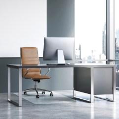 Desk Chair Glass Mat Walmart Executive Item Flr124053eg Cpi One Point