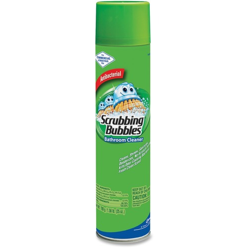 Spray Bubbles Shower Scrubbing