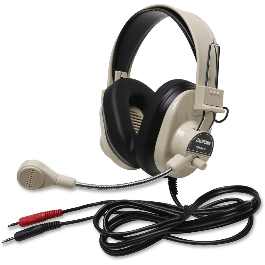 hight resolution of deluxe multimedia stereo wired headset 3 5mm plug cii3066av