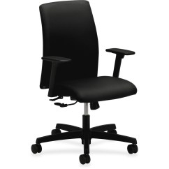 Hon Ignition Fabric Chair Hanging With Footrest Low Back Task Urban Office Products Honit105nt10