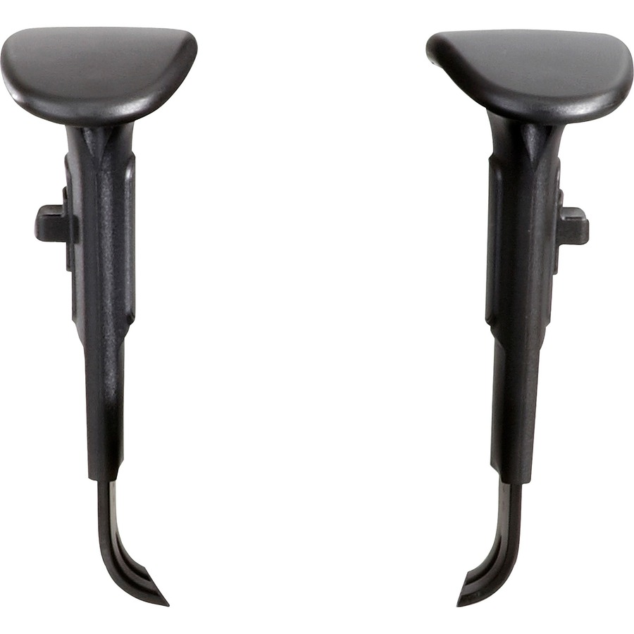 Task Chairs With Arms Safco Task Chair Adjustable T Pad Arm Kit Black 2 Pair