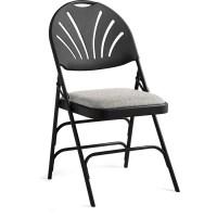 Bulk Samsonite Fanback Steel & Fabric Folding Chair ...