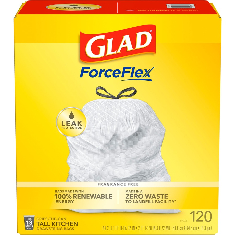glad tall kitchen drawstring trash bags remodel budget estimator clo78564 office supply hut