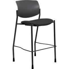 Steel Vinyl Chair Dxracer Review Lorell Seat Contemporary Stool Urban Office Products Llr83119a205