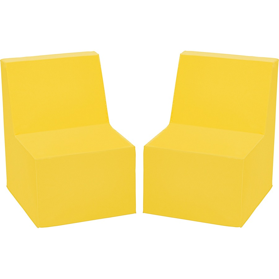 Toddler Soft Chairs Ecr4kids Toddler Cushioned Chairs Yellow 20
