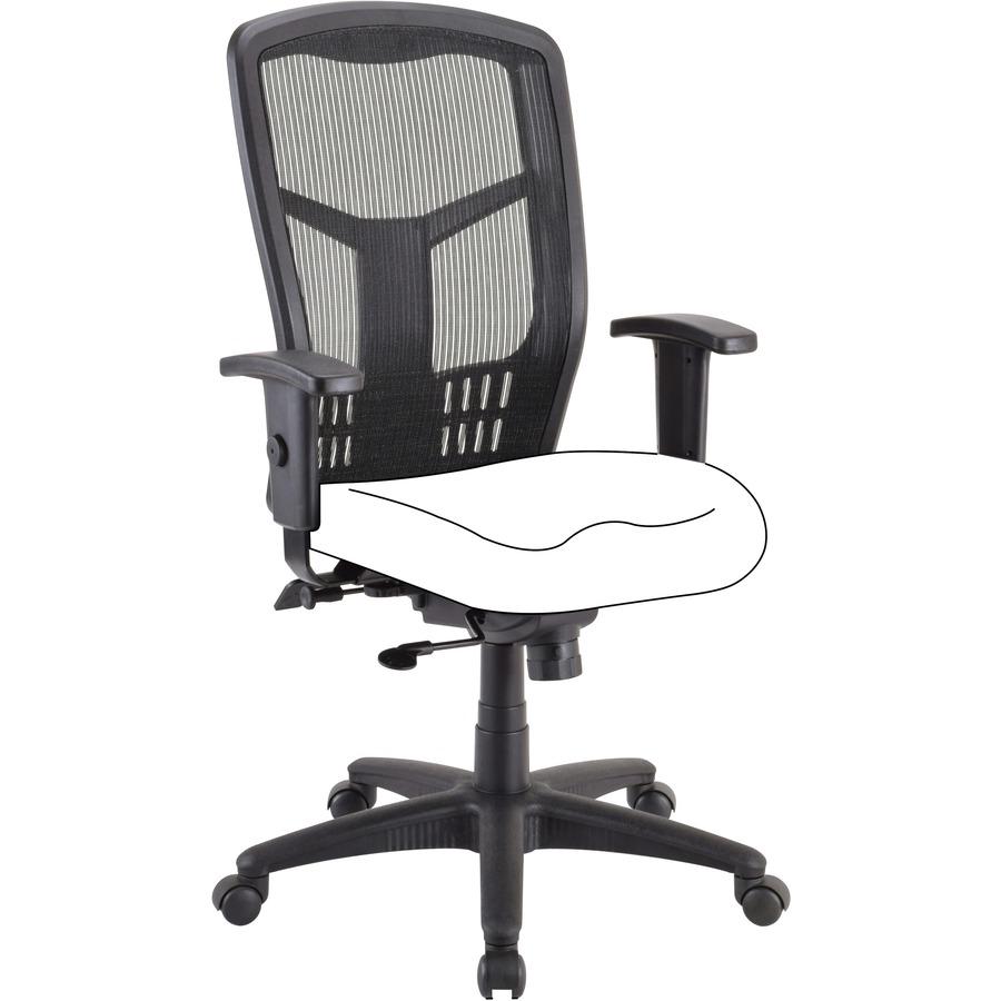 air chair frame portable rocking lorell high back latsons com black 1 each