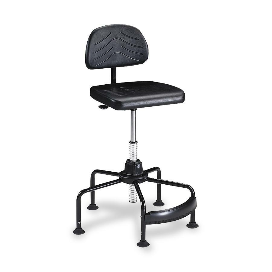 How To Adjust Office Chair Safco Taskmaster Economy Industrial Chair Polyurethane Black Seat Black 16 25