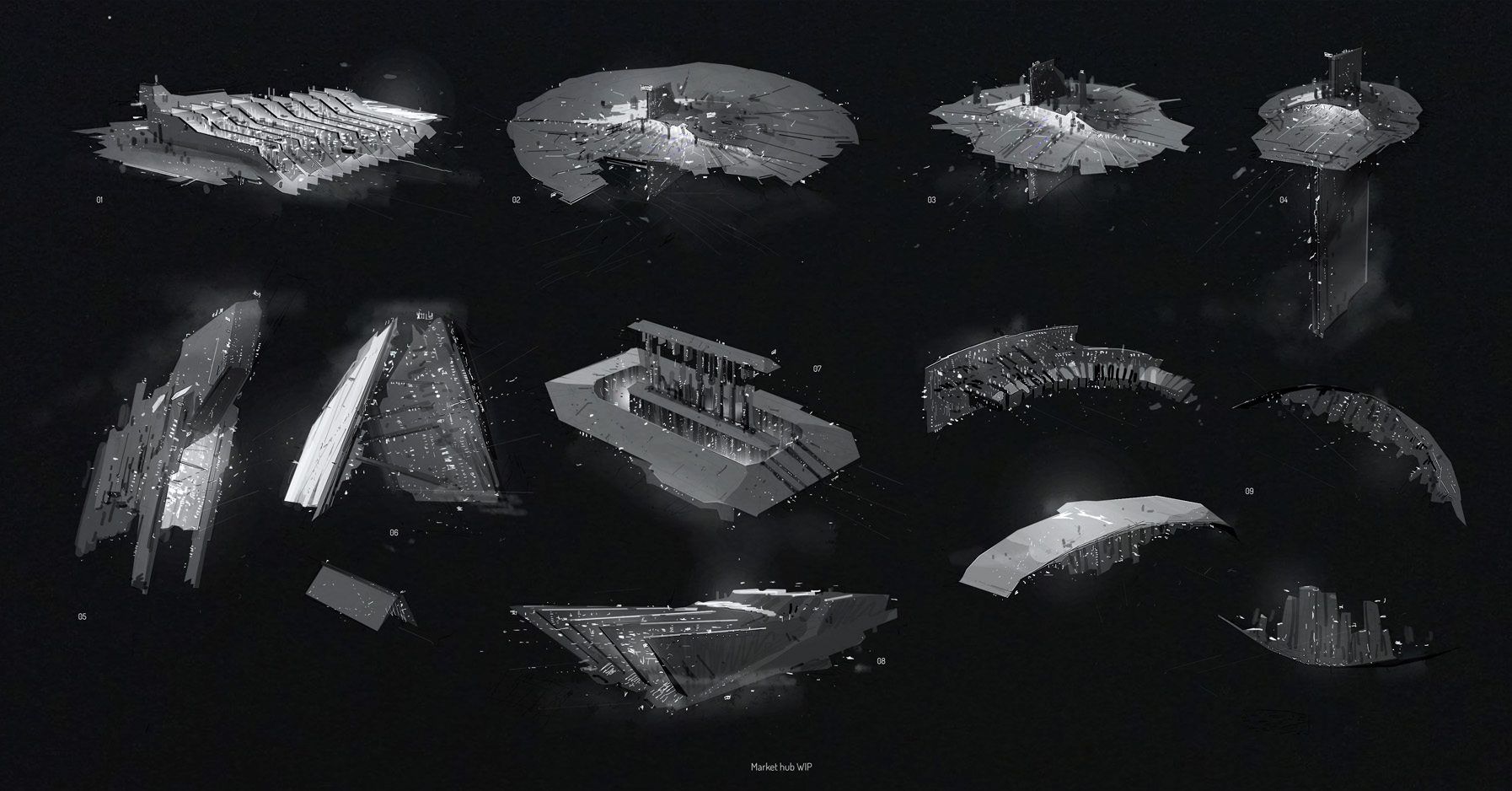 hight resolution of first structure type citadel class