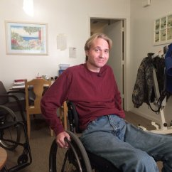 Wheelchair Fight Chair Covers Homestore And More Clay County Man Fights With Health Insurance Over New