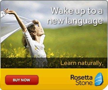 Rosetta Stone online language programme