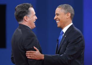 Image result for Mitt Romney and Obama