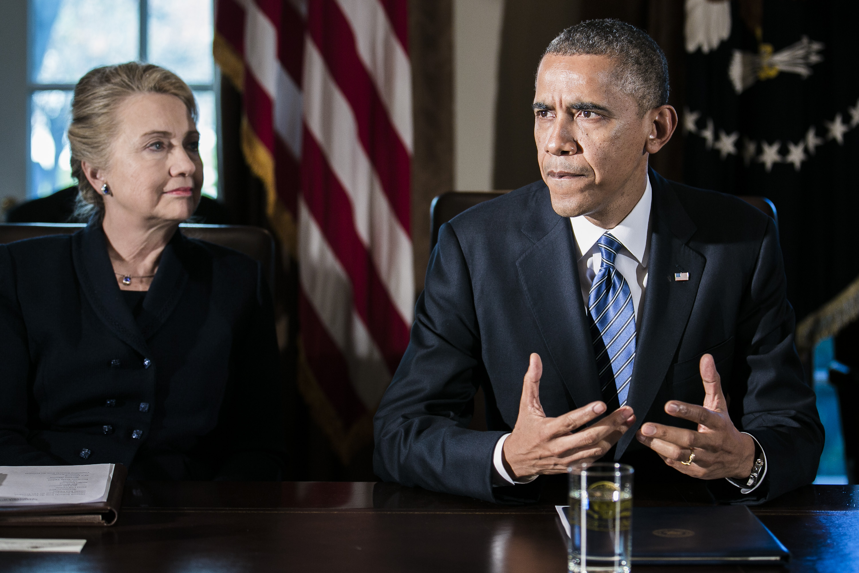obama says clinton never