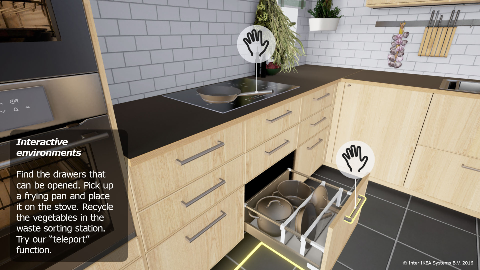 Ikea Embraces Virtual Reality With Virtual Kitchen For Htc Vive Fortune