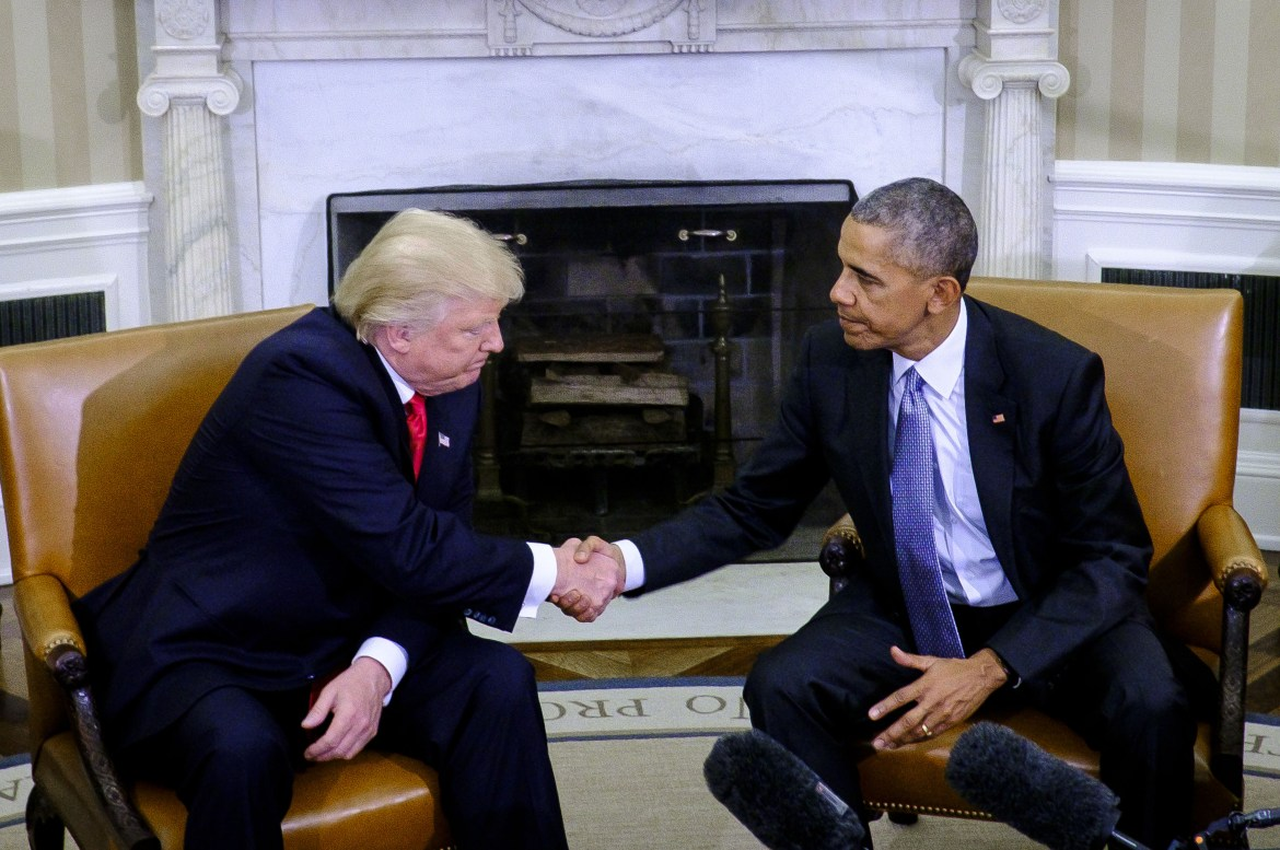 President Obama and Donald Trump Meet at White House | Fortune