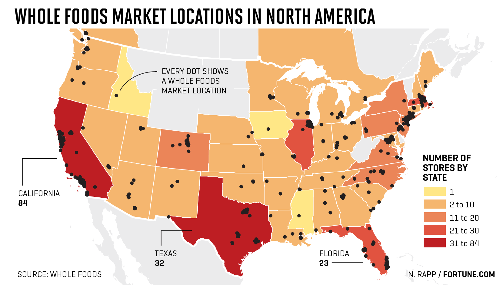 Map Whole Foods Store Locations In U S