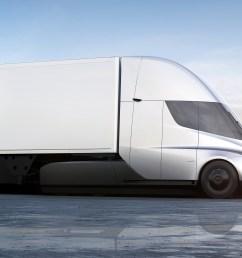 inside tesla s new electric semi truck [ 3840 x 2160 Pixel ]
