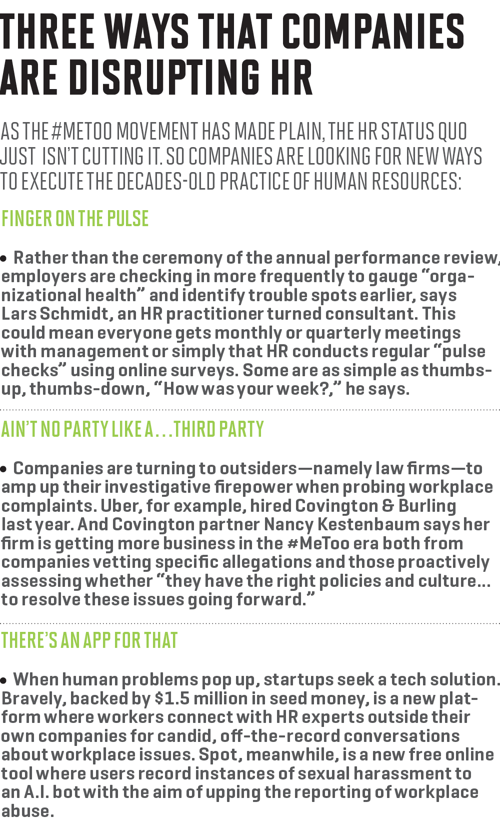 medium resolution of three ways companies are disrupting hr