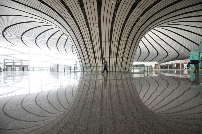 The  Billion 'Phoenix': Beijing Officially Opens the World's Largest Airport