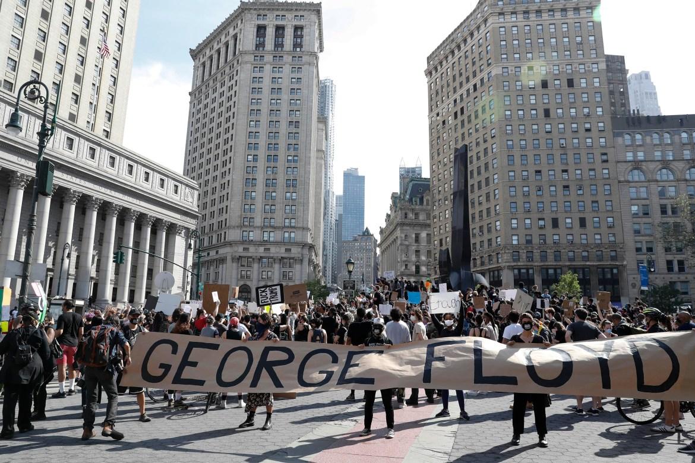 2020 George Floyd death_BLM protest NYC