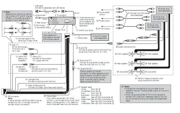 Ответы@Mail.Ru: Как подключить магнитолу Pioneer DEH-P7000UB