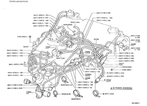 AE85 electrical diagramm