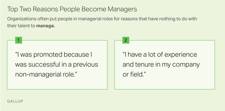 Top Two Reasons People Become Managers