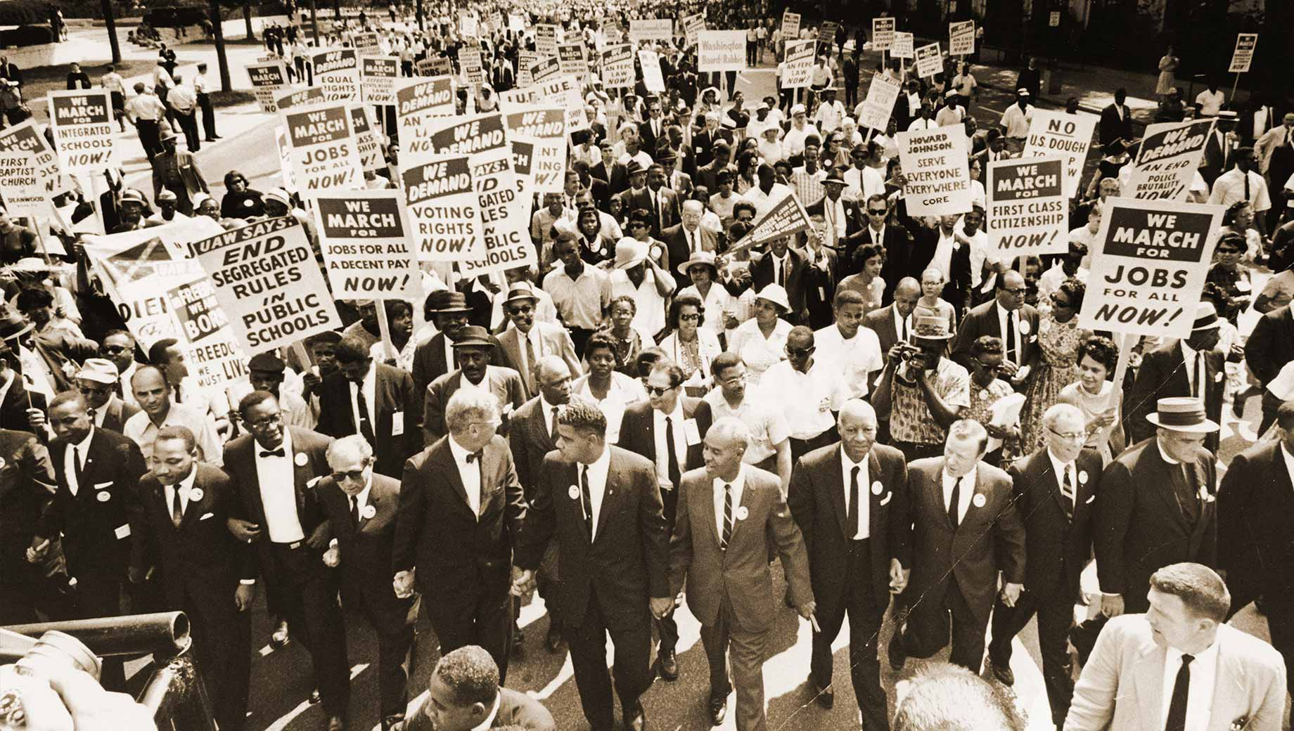 Protests Seen As Harming Civil Rights Movement In The 60s