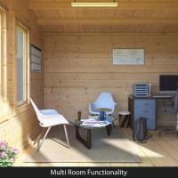 BillyOh Seattle Home Office - Log Cabins - Garden ...