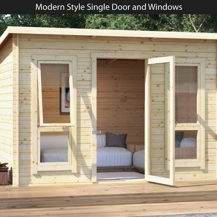 7ft sofa cover emerald corner bed billyoh carmen log cabin summerhouse - summer houses ...