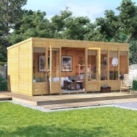 BillyOh Bella Tongue and Groove Pent Summerhouse - Summer ...