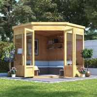 BillyOh Picton Corner Summerhouse - Summer Houses - Garden ...