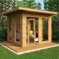 Grandmaster Contemporary Summerhouse - 10x10 - Summer ...
