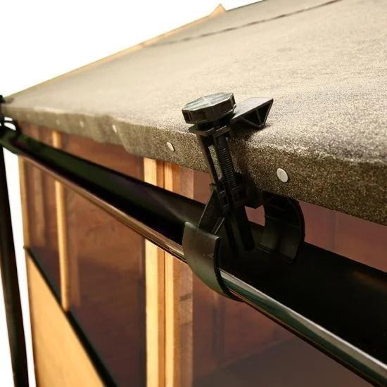 Quality Shed Guttering  Halls Rainsaver Shed Gutter Kit