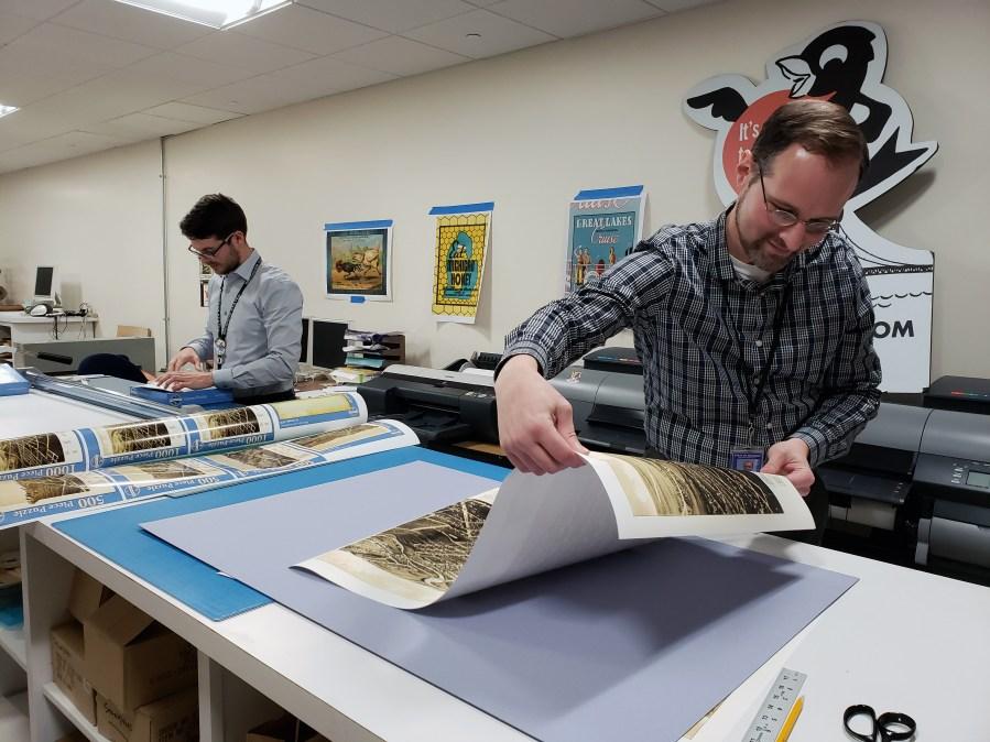 Michigan Genealogy - Puzzle Making