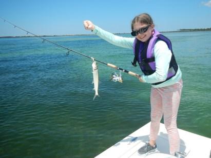 Katlyn with ladyfish