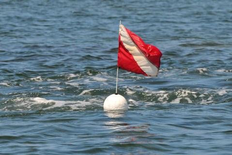 divers-down flag